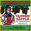 Rothaus Pils / Tannen Zäpfle